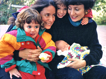 Dr.Carol, her sister Renita, and her three children