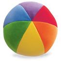 multicolored fabric ball